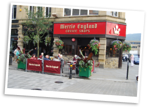 Merrie England Coffee Shop in Halifax