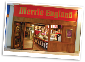 Merrie England Coffee Shop in Huddersfield
